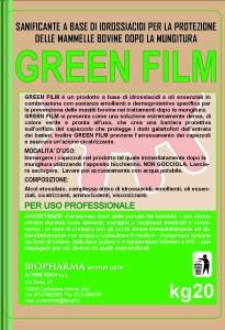 GREEN FILM ETICHETTA ALICE