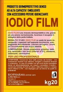 IODIO FILM ETICHETTA