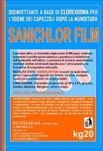 SANICHLOR FILM ETICHETTA