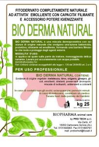 etichetta bio derma natural
